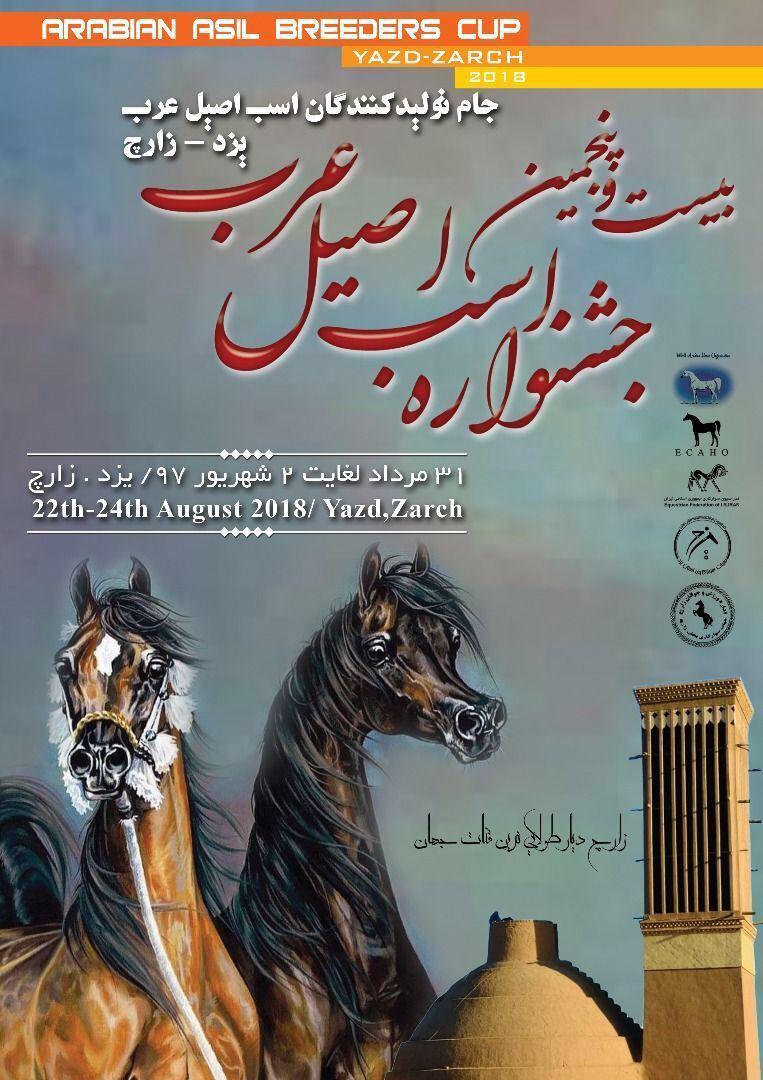 بیست و پنجمین جشنواره اسب اصیل عرب-جام تولید کنندگان-یزد